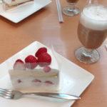 美味しいダッキ―ダックのイチゴケーキ
