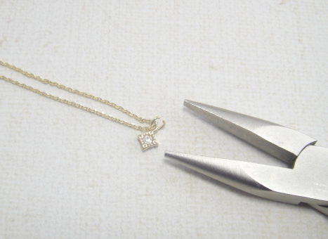 ネックレス作り方